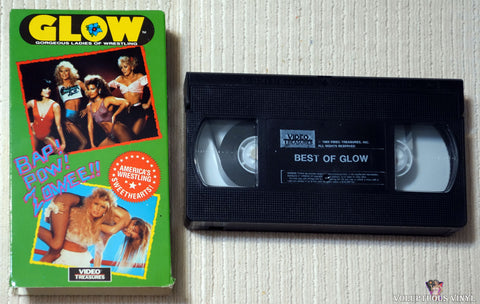 GLOW Gorgeous Ladies of Wrestling VHS tape