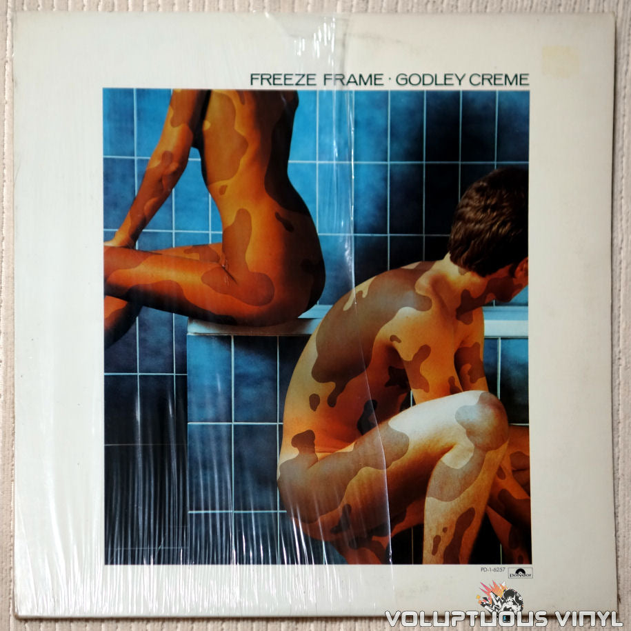 Godley & Creme ‎– Freeze Frame - Vinyl Record - Front Cover