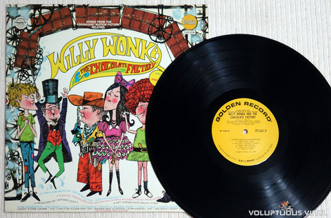Golden Orchestra And Chorus ‎– Willy Wonka And The Chocolate Factory And Other Sweet Songs - Vinyl Record