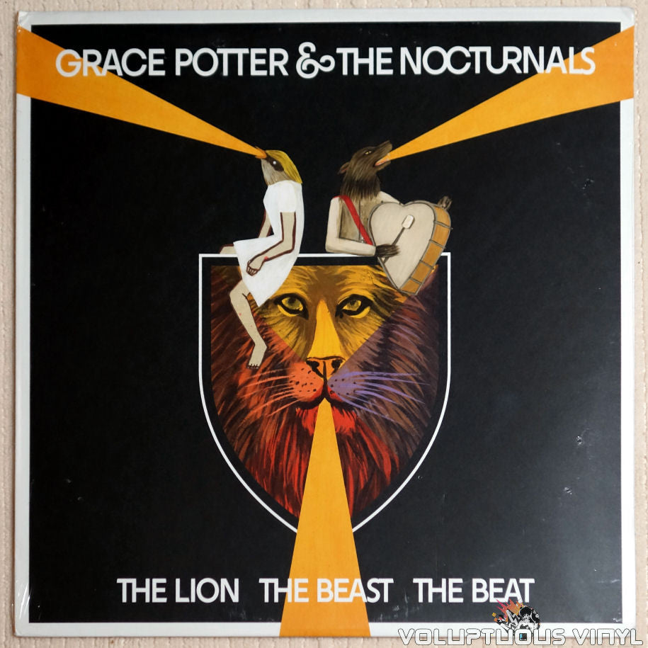 Grace Potter & The Nocturnals ‎– The Lion The Beast The Beat - Vinyl Record - Front Cover