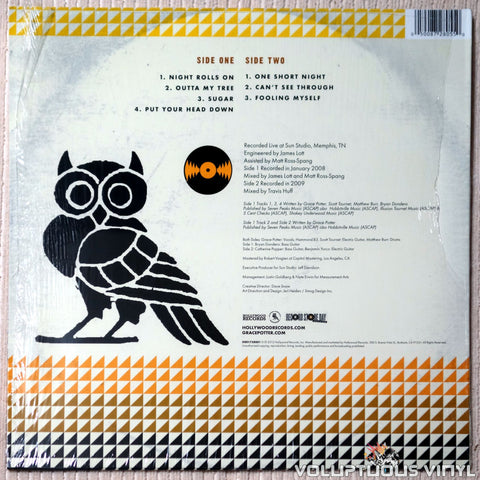 Grace Potter & The Nocturnals ‎– Live From The Legendary Sun Studio - Vinyl Record - Back Cover