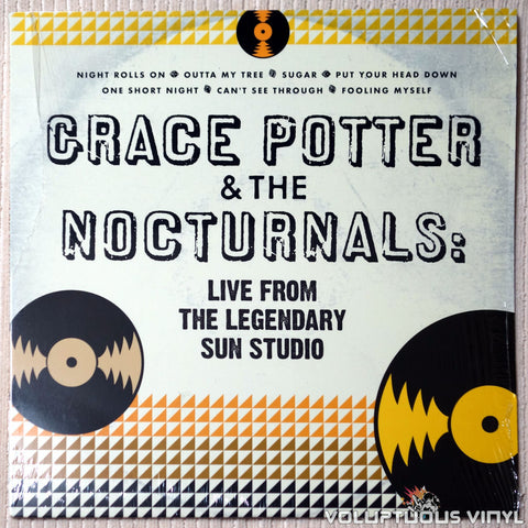 Grace Potter & The Nocturnals ‎– Live From The Legendary Sun Studio - Vinyl Record - Front Cover