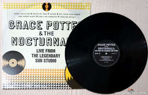 Grace Potter & The Nocturnals ‎– Live From The Legendary Sun Studio - Vinyl Record