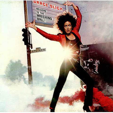 Grace Slick ‎– Welcome To The Wrecking Ball! (1981) Cheap Vinyl Record