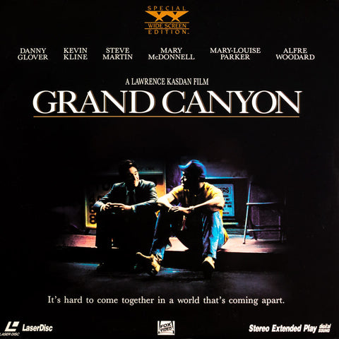 Grand Canyon (1991) LaserDisc