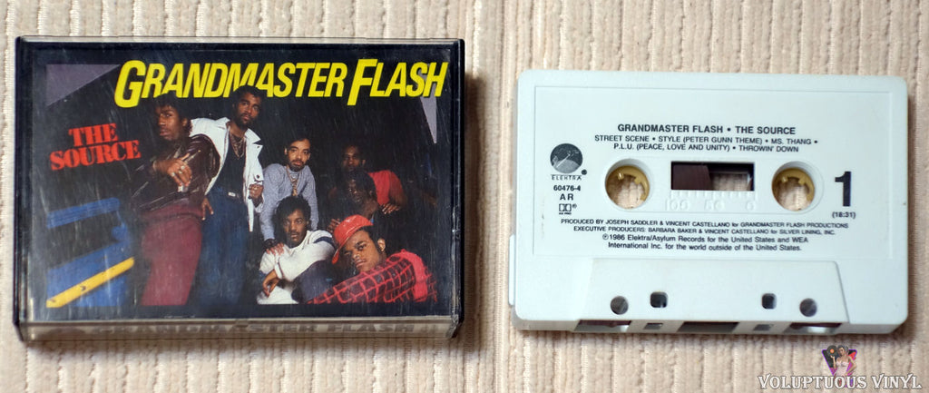 Grandmaster Flash ‎– The Source (1986)