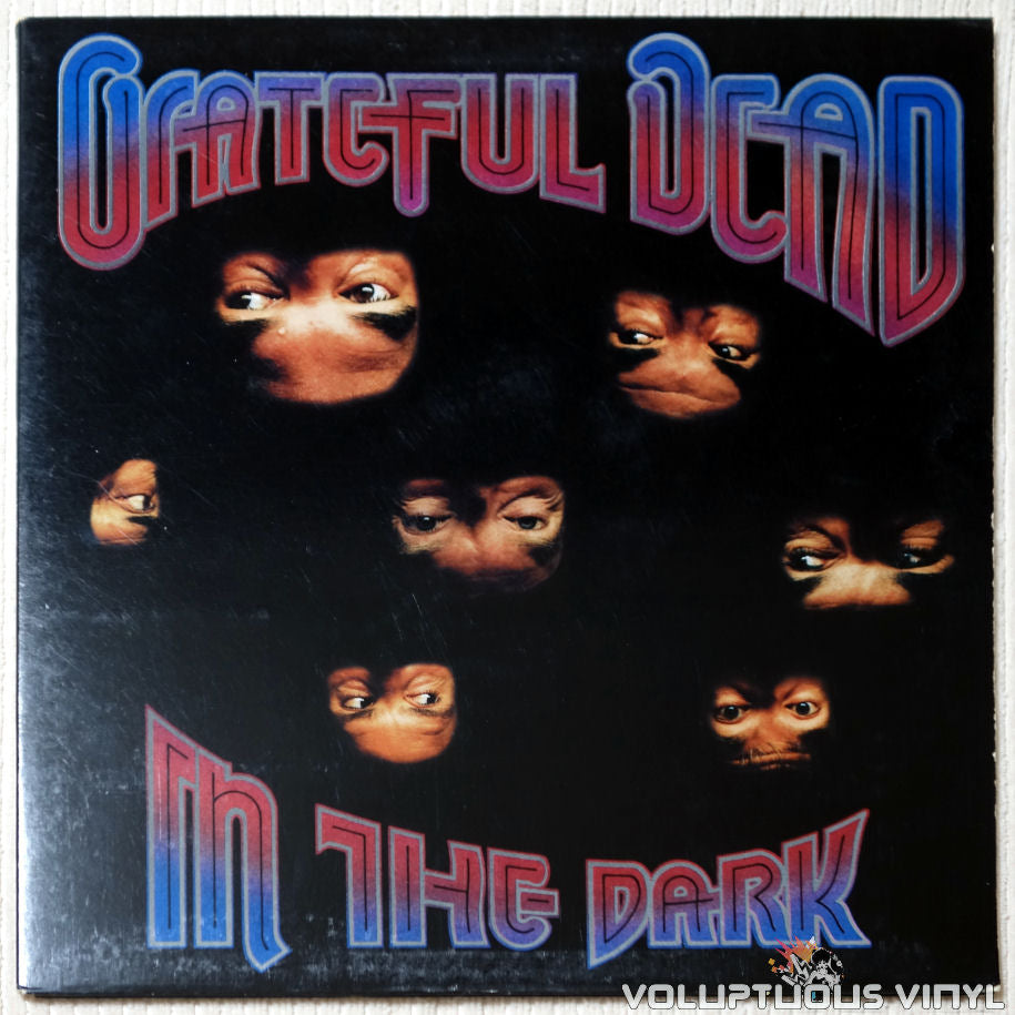 Grateful Dead ‎– In The Dark - Vinyl Record - Front Cover