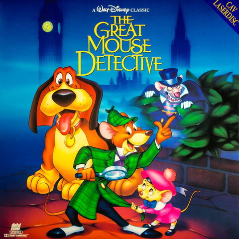 Great Mouse Detective, The (1986) LaserDisc