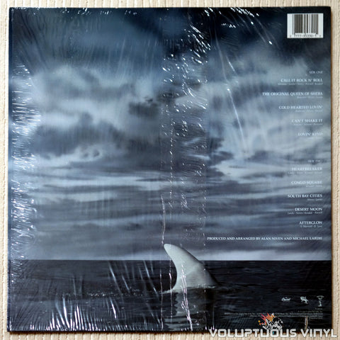 Great White ‎– Hooked - Vinyl Record - Back Cover