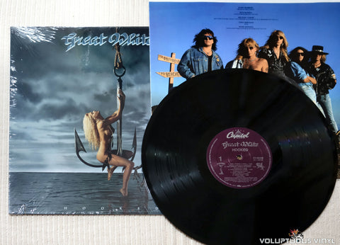 Great White ‎– Hooked - Vinyl Record