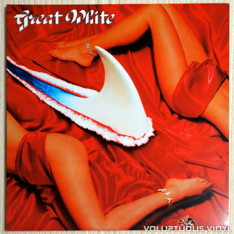 Great White ‎– Twice Shy - Vinyl Record - Front Cover