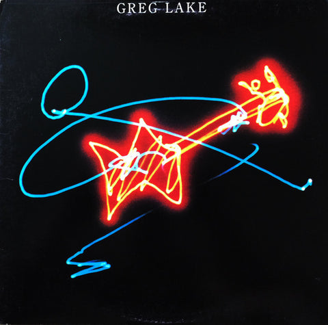 Greg Lake ‎– Greg Lake (1981) Vinyl Record