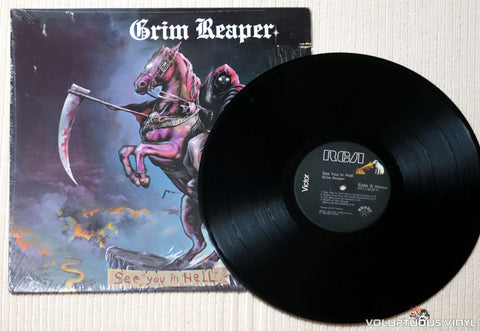 Grim Reaper ‎– See You In Hell - Vinyl Record