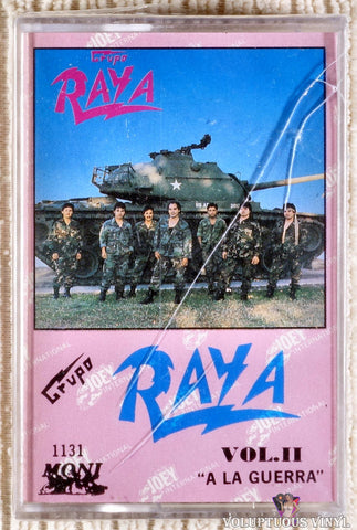 Grupo Raya ‎– Vol. II A La Guerra (1990) SEALED
