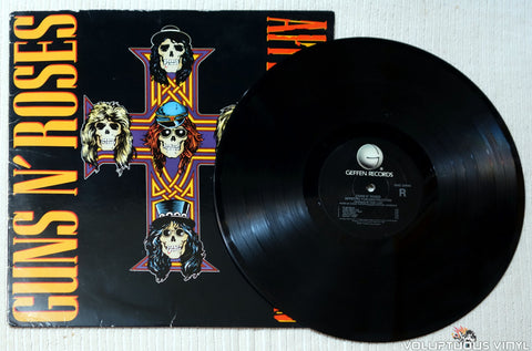Guns N' Roses ‎– Appetite For Destruction vinyl record