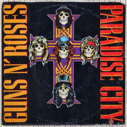"Guns N' Roses ‎– Paradise City (1989) 7"" Single"