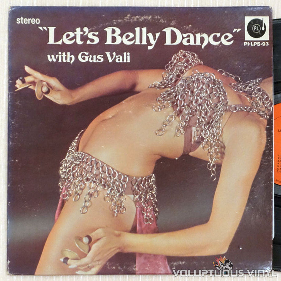 Gus Vali ‎– Let's Belly Dance - Vinyl Record