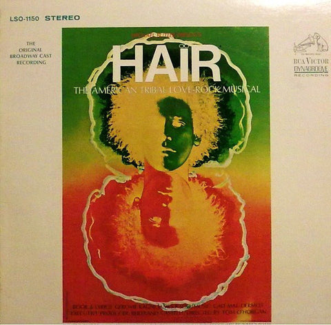 Various ‎– Hair - The American Tribal Love-Rock Musical - The Original Broadway Cast Recording Cheap Vinyl Record