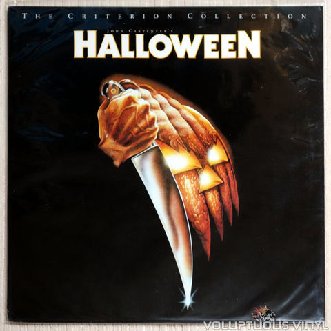 Halloween: Criterion Collection #310 - LaserDisc - Front Cover