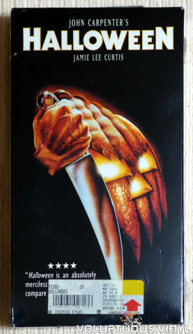 Halloween - VHS - Front Cover