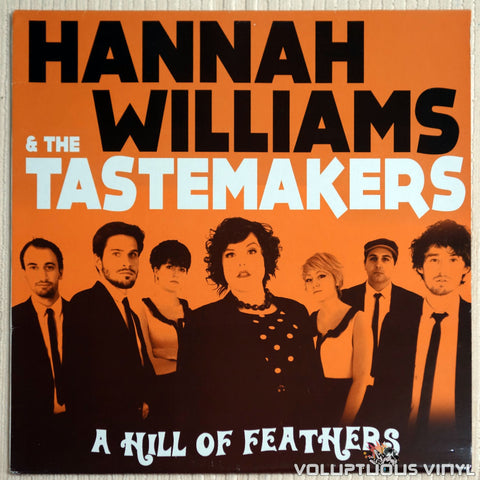 Hannah Williams & The Tastemakers ‎– A Hill Of Feathers - Vinyl Record - Front Cover