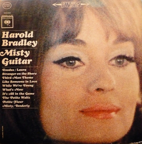 Harold Bradley ‎– Misty Guitar (1963) Cheap Vinyl Record