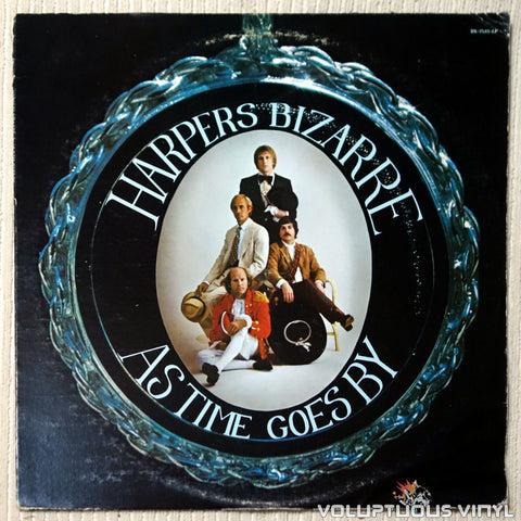 Harpers Bizarre ‎– As Time Goes By vinyl record front cover