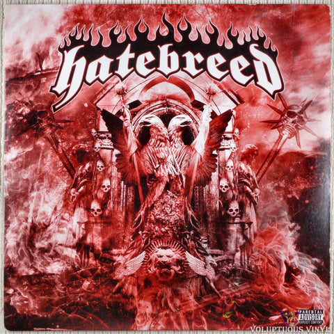 Hatebreed ‎– Hatebreed vinyl record front cover