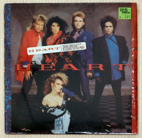 Heart Vinyl Record Self Titled