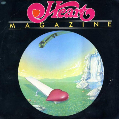 Heart ‎– Magazine vinyl record front cover