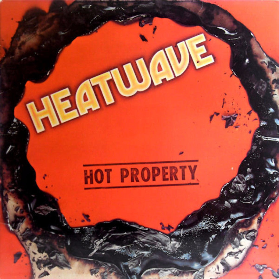 Heatwave ‎– Hot Property - Vinyl Record - Front Cover
