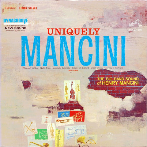 Henry Mancini And His Orchestra ‎– Uniquely Mancini (1963) Cheap Vinyl Record