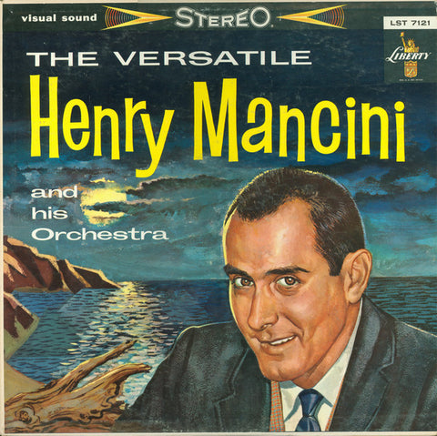 Henry Mancini And His Orchestra ‎– The Versatile Henry Mancini And His Orchestra (1959) Cheap Vinyl Record