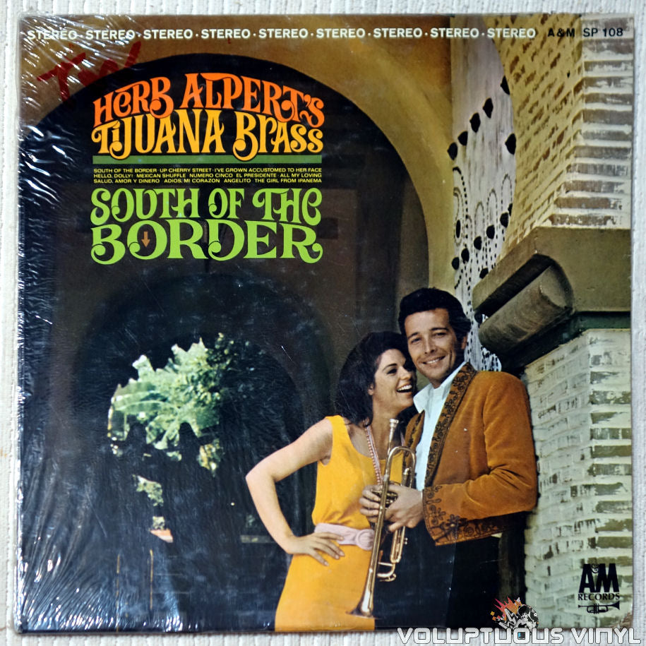 Herb Alpert's Tijuana Brass ‎– South Of The Border vinyl record front cover