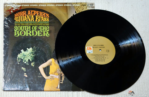 Herb Alpert's Tijuana Brass ‎– South Of The Border vinyl record