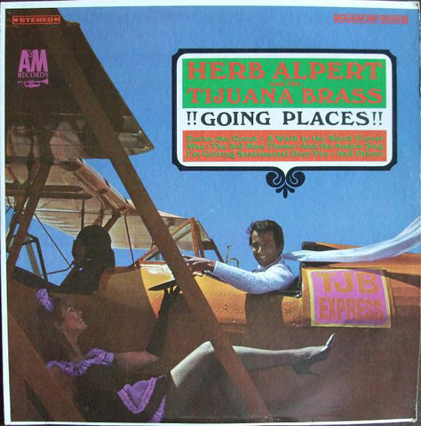 Herb Alpert And The Tijuana Brass ‎– !!Going Places!! (1965) Cheap Vinyl Record