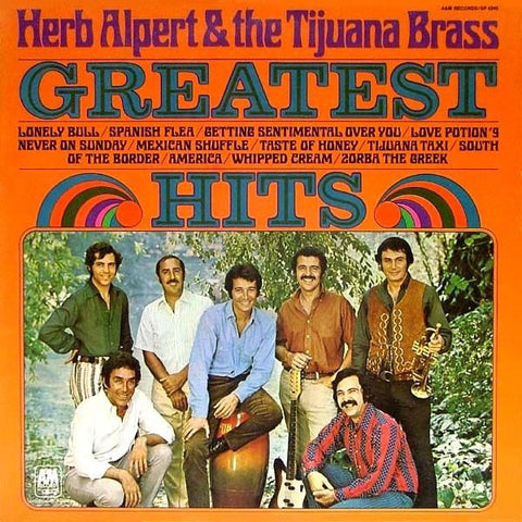 Herb Alpert & The Tijuana Brass ‎– Greatest Hits (1970) Cheap Vinyl Record