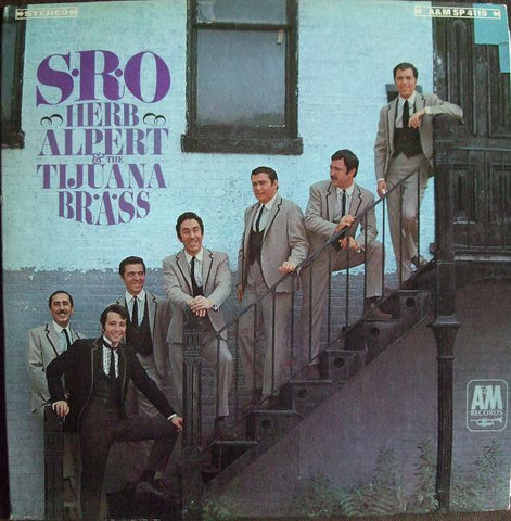 Herb Alpert & The Tijuana Brass ‎– S.R.O. (1966) Vinyl Record