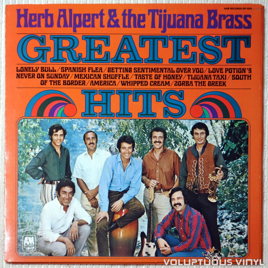 Herb Alpert & The Tijuana Brass ‎– Greatest Hits - Vinyl Record - Front Cover