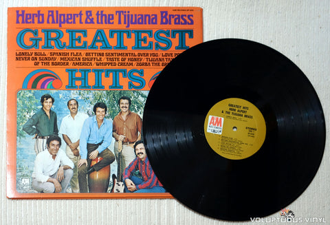 Herb Alpert & The Tijuana Brass ‎– Greatest Hits - Vinyl Record
