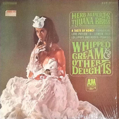 Herb Alpert's Tijuana Brass ‎– Whipped Cream & Other Delights vinyl record front cover