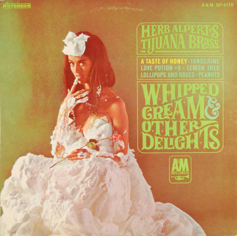Herb Alpert's Tijuana Brass ‎– Whipped Cream & Other Delights (1965) Cheap Vinyl Record