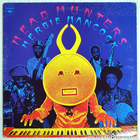 Herbie Hancock ‎– Head Hunters - Vinyl Record - Front Cover