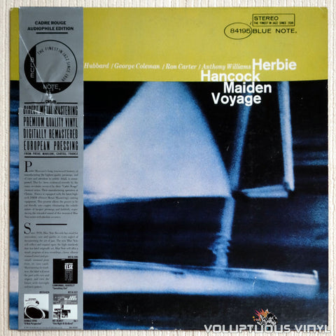 Herbie Hancock ‎– Maiden Voyage - Vinyl Record - Front Cover