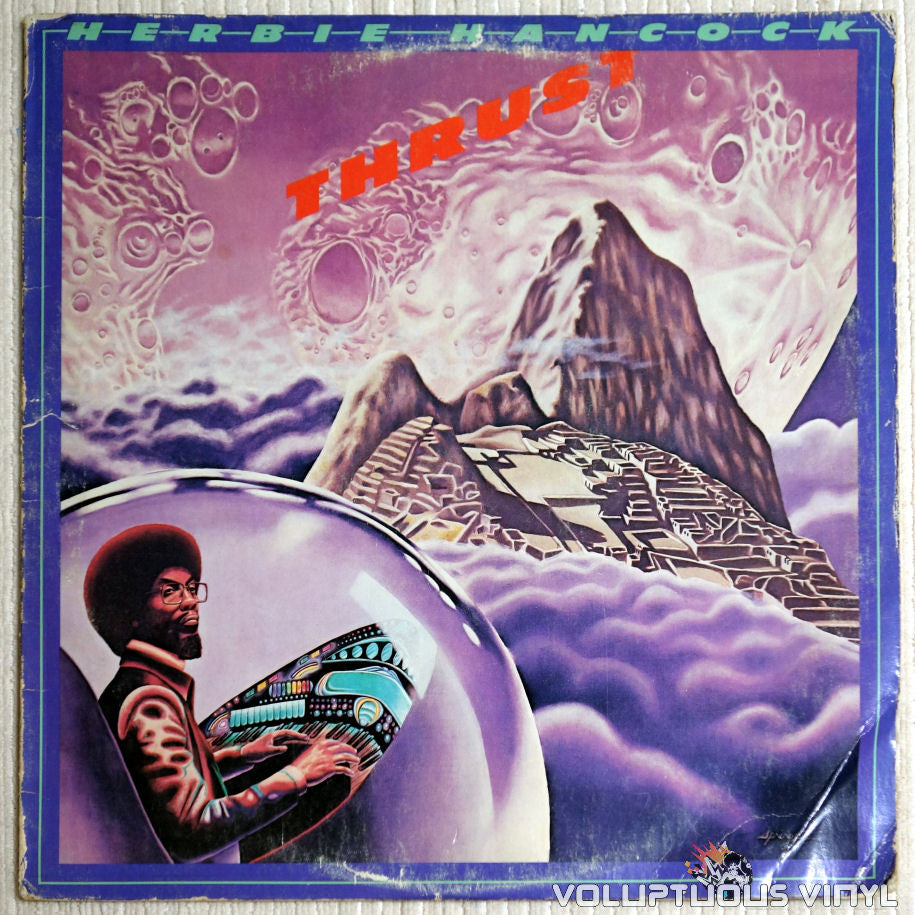 Herbie Hancock ‎– Thrust - Vinyl Record - Front Cover