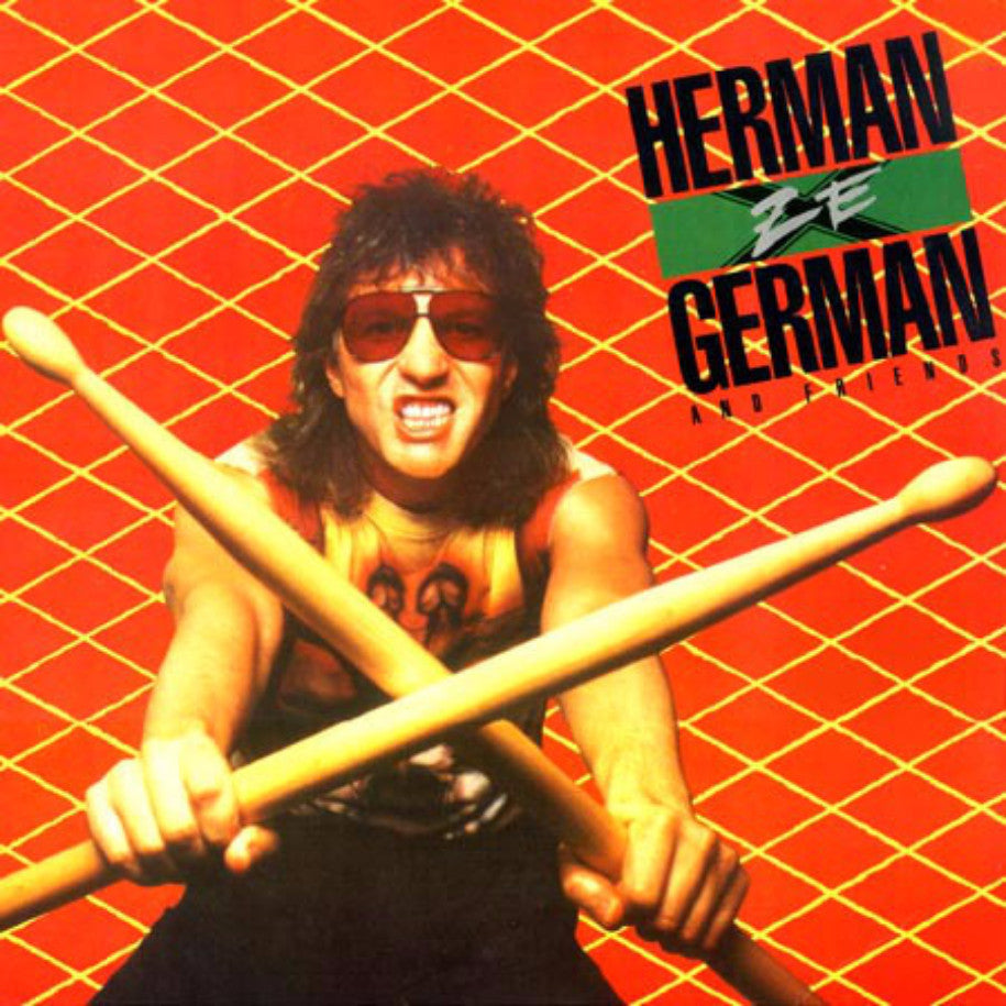 Herman Ze German ‎– Herman Ze German & Friends - Vinyl Record - Front Cover