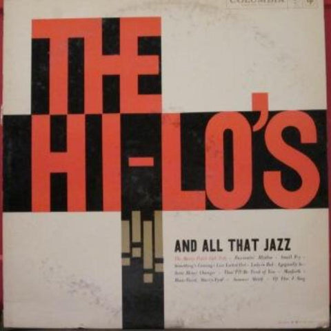 The Hi-Lo's With The Marty Paich Dek-Tette ‎– And All That Jazz - Vinyl Record