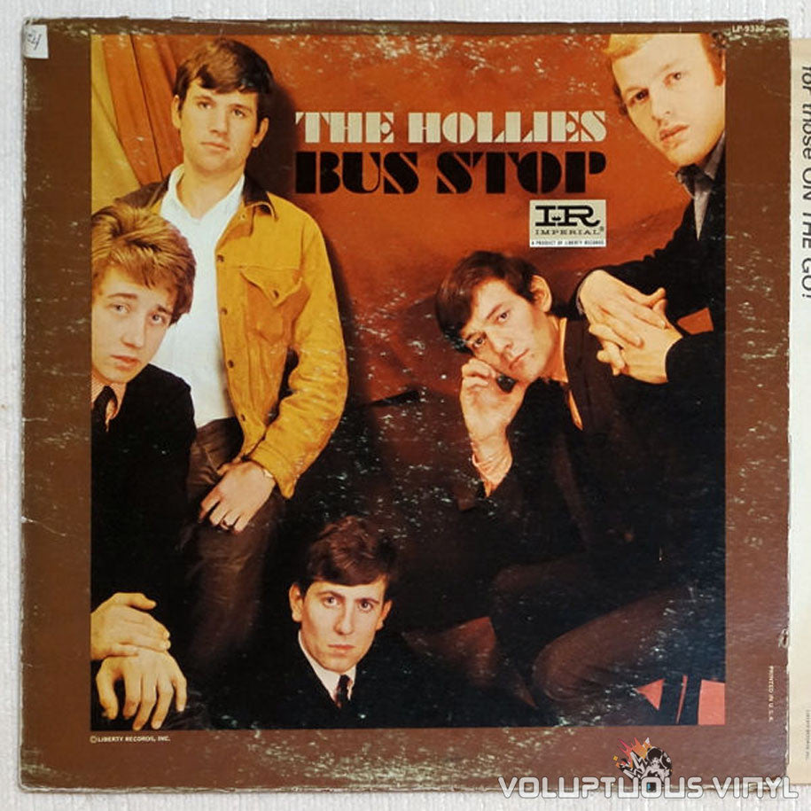 The Hollies ‎Bus Stop Vinyl Record Mono Pressing
