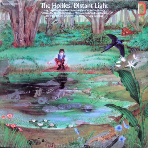The Hollies ‎– Distant Light - Vinyl Record