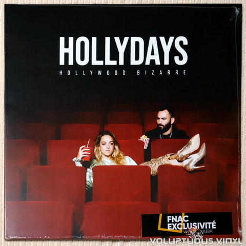 Hollydays ‎– Hollywood Bizarre vinyl record front cover